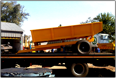 Tractor tipper build and created by ROAR construction, Mpumalanga